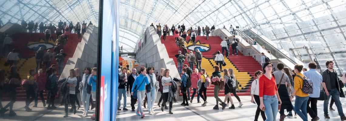 Die Leipziger Buchmesse wurde aufgrund des Coronavirus abgesagt