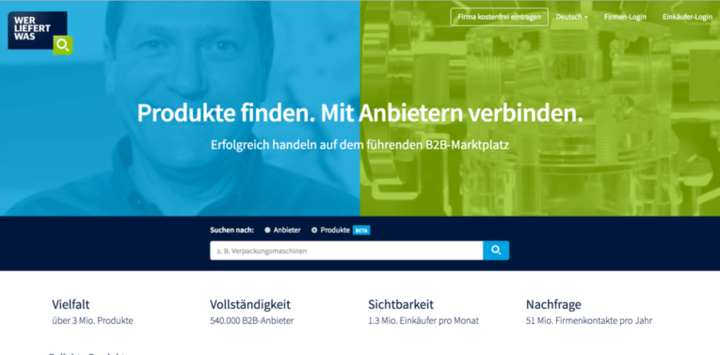 """""""Wer liefert was"""" präsentiert sich mit neuem Design und startet B2B-Magazin"""