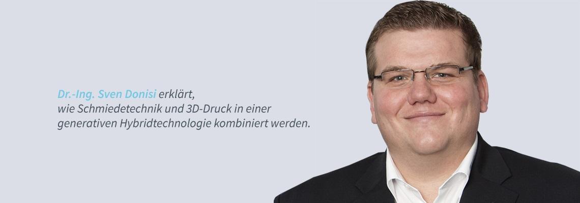 Dr.-Ing.  Sven Donisi - Metall 3D Druck