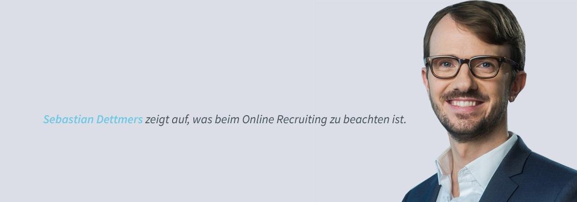 Sebastian Dettmers - Personalbeschaffung