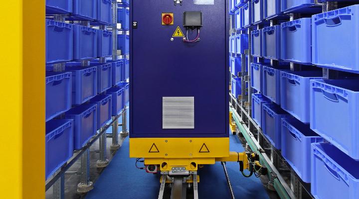 Automatisierte Kleinteilelager