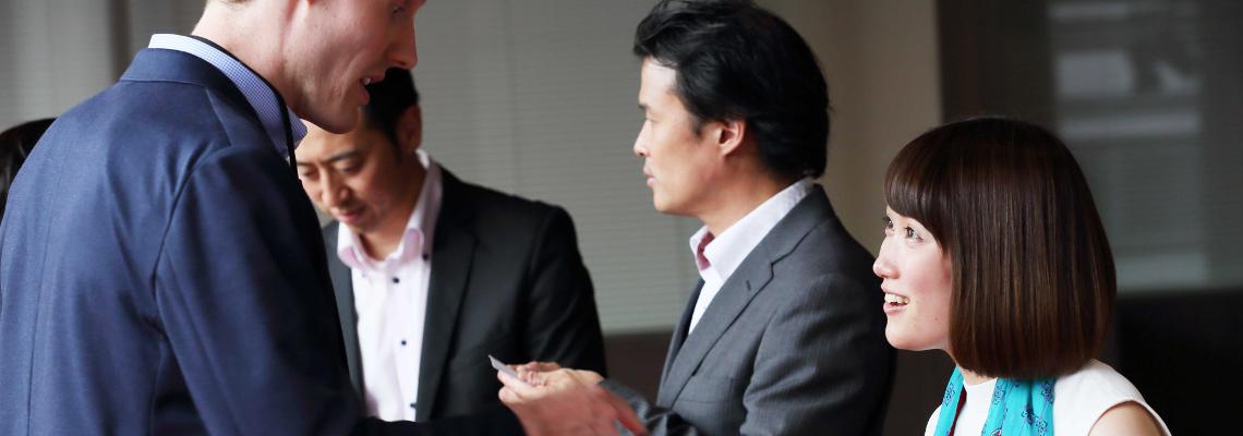 Business-Knigge für Asien