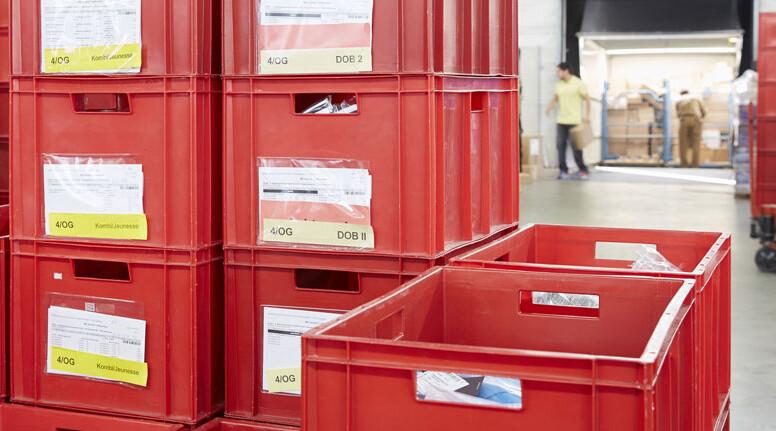 Materialfluss mit Lean-Management